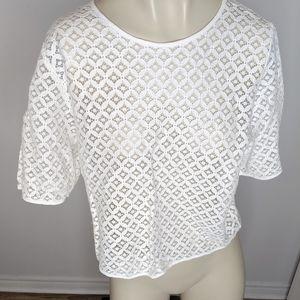 MNG - white blouse